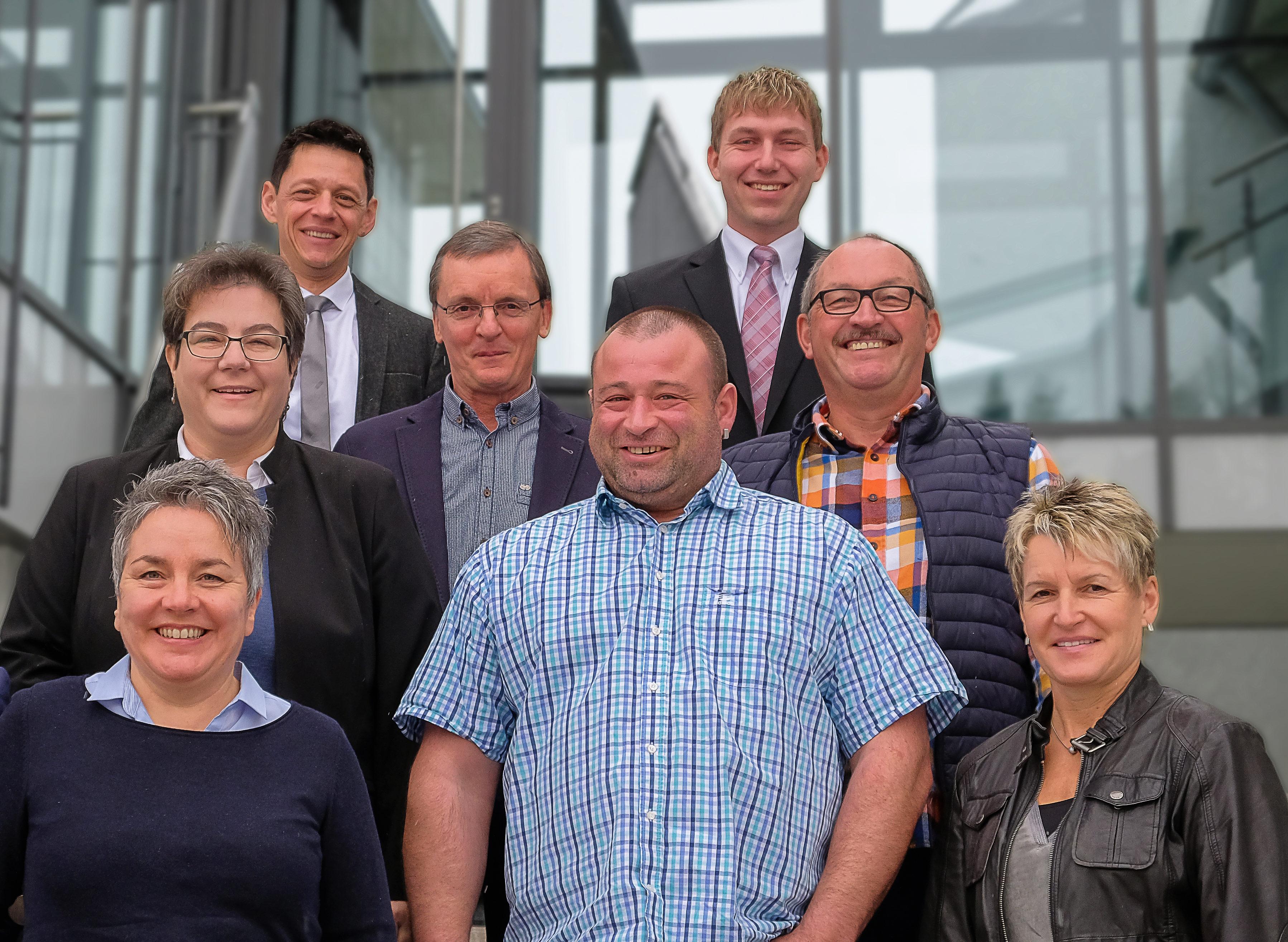 Vorstand des Gewerbevereins Burgrieden-Achstetten e. V.