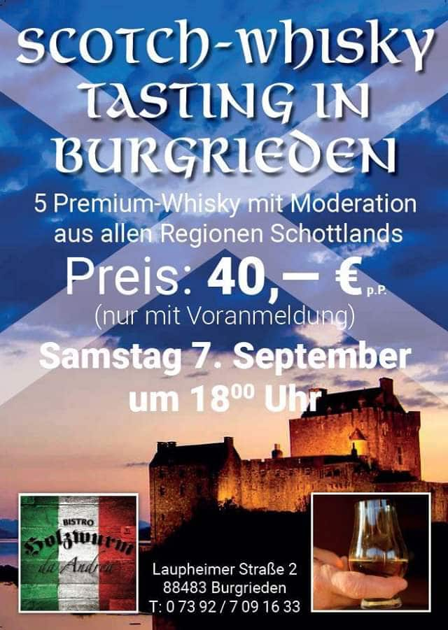 Scotch-Whisky Tasting in Burgrieden