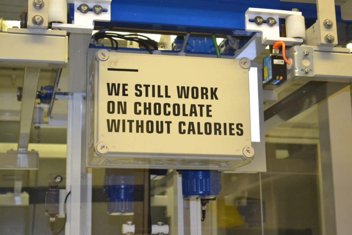 We still work on Chocolate without calories